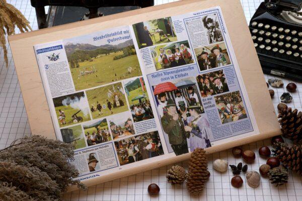 Der Oberbaierische Kalender 2009 mit vielen Fotos