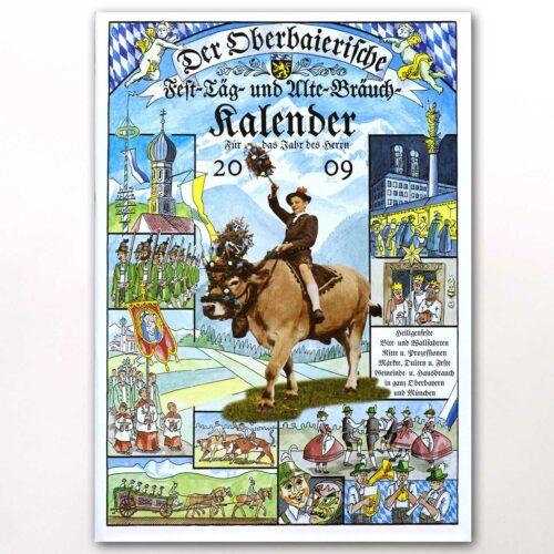 Der Titel des Oberbaierischen Kalenders 2009