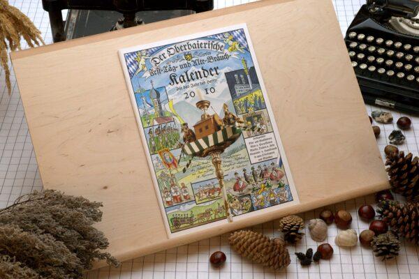 Titel des Oberbaierischen Kalenders 2010