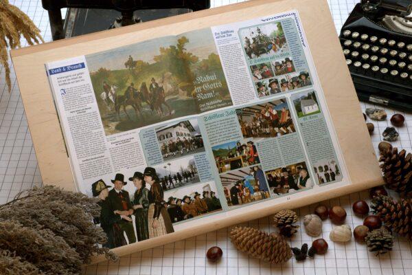 Der Oberbaierische Kalender 2010 mit vielen Fotos