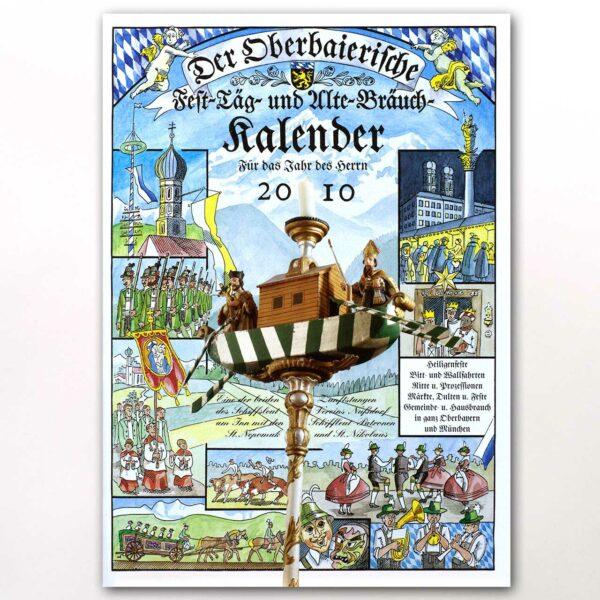Der Titel des Oberbaierischen Kalenders 2010