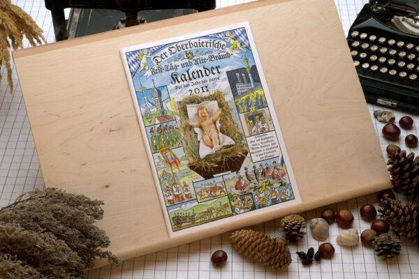Titel des Oberbaierischen Kalenders 2011