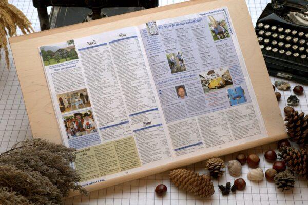Der Oberbaierische Kalender 2011 Innenseite