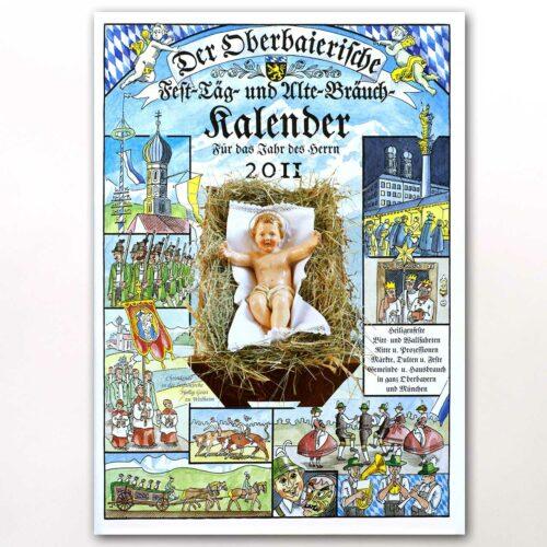 Der Titel des Oberbaierischen Kalenders 2011