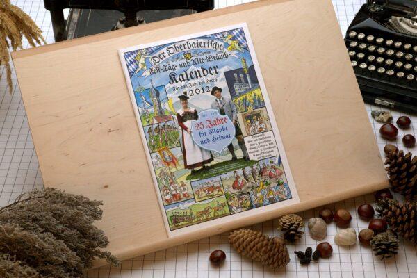 Titel des Oberbaierischen Kalenders 2012