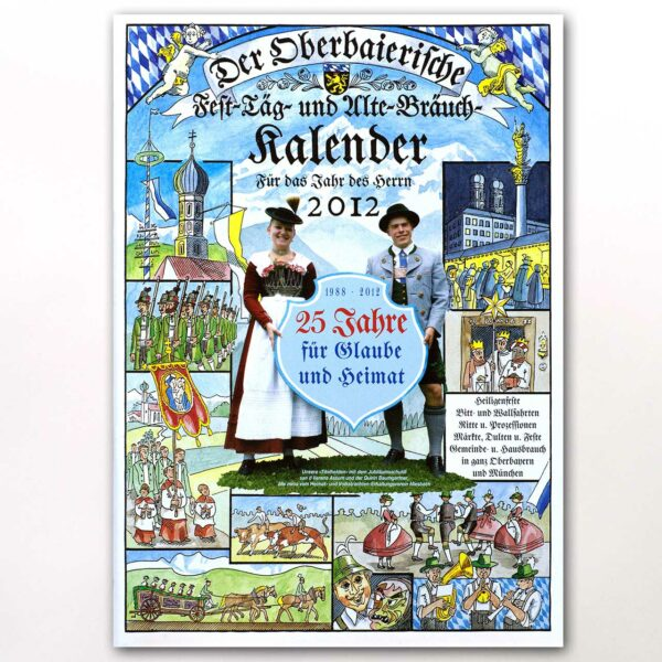 Der Titel des Oberbaierischen Kalenders 2012