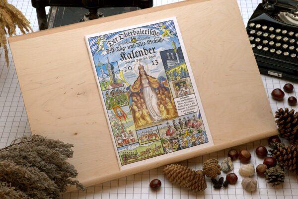 Titel des Oberbaierischen Kalenders 2013
