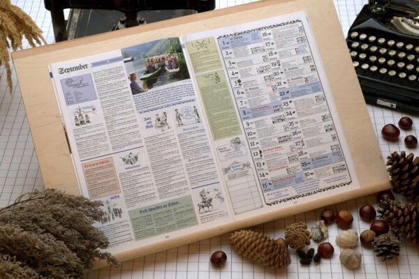 Der Oberbaierische Kalender 2013 Innenseite