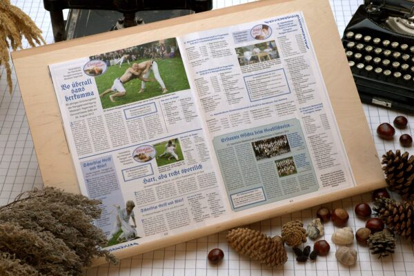 Der Oberbaierische Kalender 2013 mit Rangglerterminen