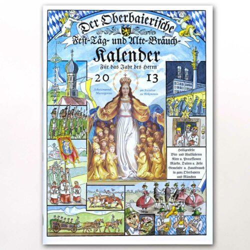 Der Titel des Oberbaierischen Kalenders 2013