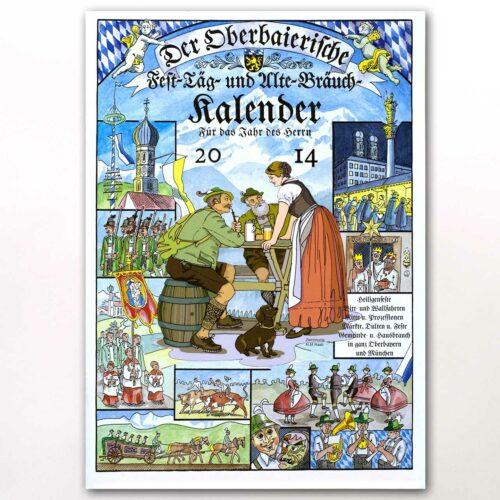 Der Titel des Oberbaierischen Kalenders 2014
