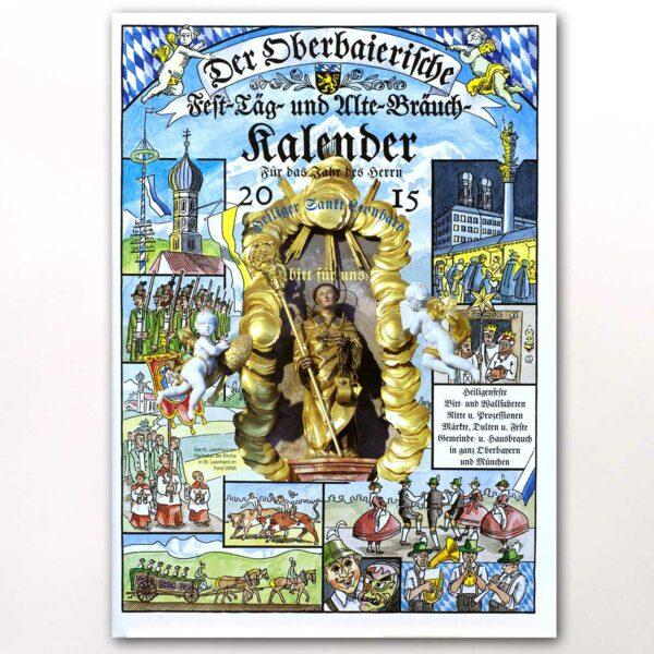 Der Titel des Oberbaierischen Kalenders 2015