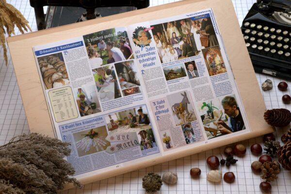 Der Oberbaierische Kalender 2017 mit vielen Fotos