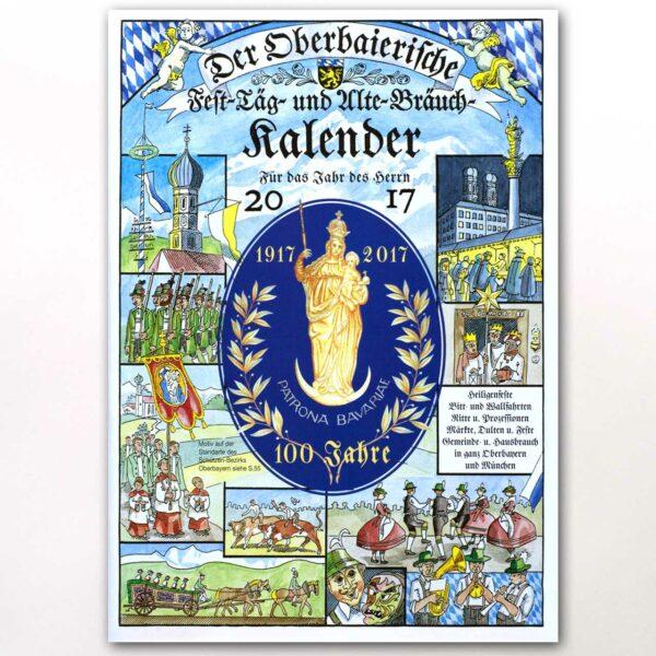 Der Titel des Oberbaierischen Kalenders 2017