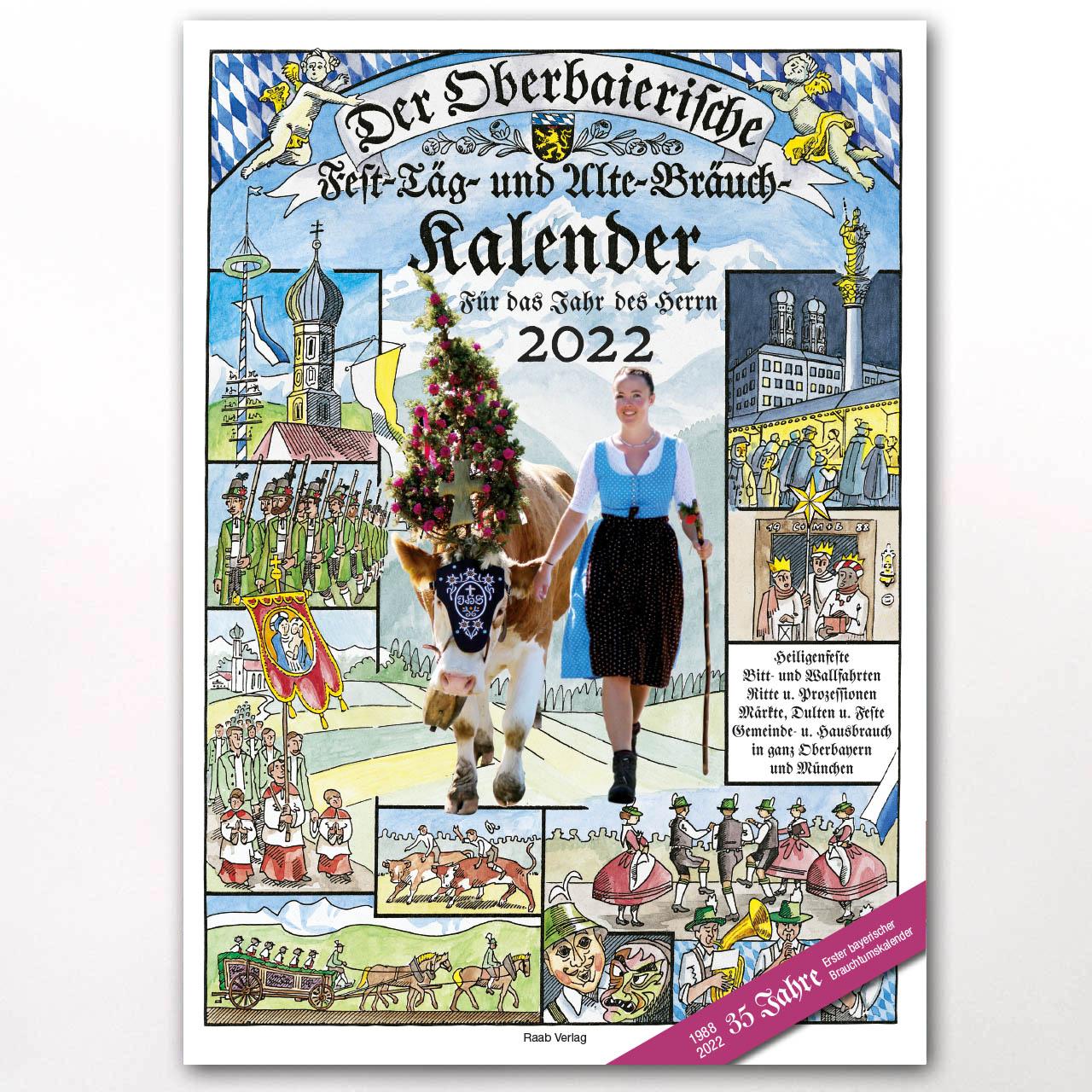 Der Titel des Oberbaierischen Kalenders 2022
